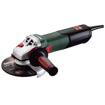 Metabo WE15-150 Quick 13.5 Amp 6 in. Angle Grinder with TC Electronics and Lock-On Sliding Switch