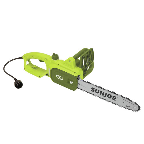Sun Joe SWJ699E 9 Amp 14 in. Chain Saw with Oregon Bar and Chain