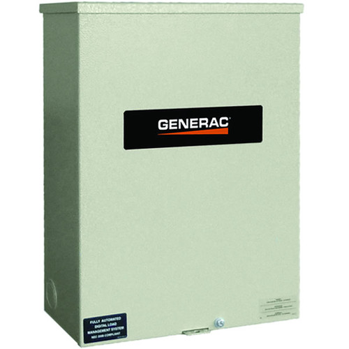 Generac RTSC100A3 100 Amp Single Phase Automatic Transfer Switch NEMA 3R
