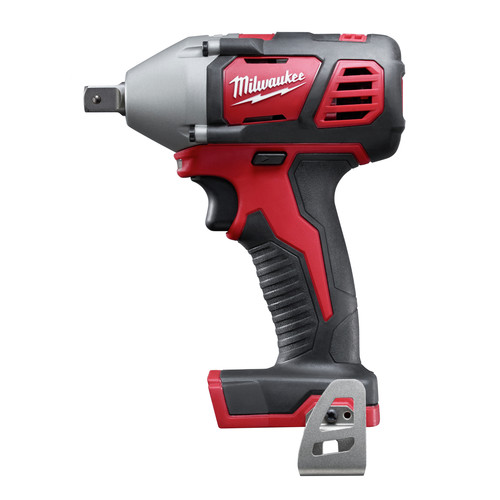 Milwaukee 2659-20 M18 18V Cordless Lithium-Ion 1/2 in. Impact Wrench with Pin Detent (Bare Tool)