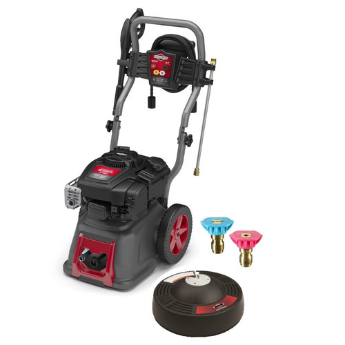 Briggs & Stratton 20664 190cc Gas 2.7 GPM Pressure Washer with 14 in. Surface Cleaner and Second Story Nozzle Kit image number 0
