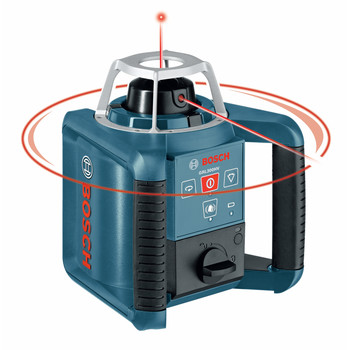 Bosch GRL300HV Self-Leveling Rotary Laser with Layout Beam image number 2