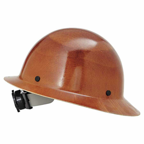 MSA 475407 6 1/2 - 8 in. Skullgard Protective Hard Hats with Ratchet Suspension (Natural Tan) image number 0