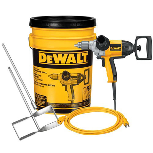 Dewalt DW130VBKT 9 Amp 1/2 in. Spade Handle Drill Mixing Kit