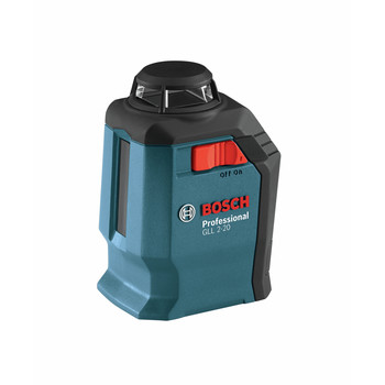 Factory Reconditioned Bosch GLL2-20S-RT Self-Leveling 360 Degree Line and Cross Laser image number 1