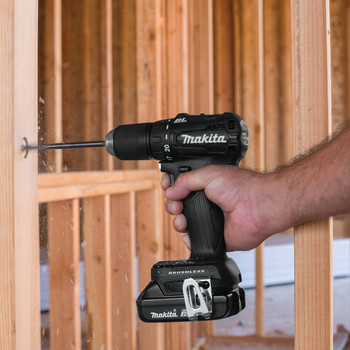 Makita XFD11R1B 18V LXT Lithium-Ion Brushless Sub-Compact 1/2 in. Cordless Drill Driver Kit (2 Ah) image number 8