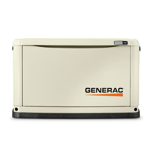 Generac 70291 Guardian Series 9/8 KW Air-Cooled Standby Generator with Wi-Fi, Aluminum Enclosure