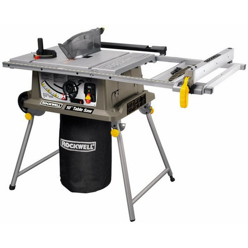 Rockwell rk7241s 15 amp 10 in table saw with laser guide greentooth Choice Image