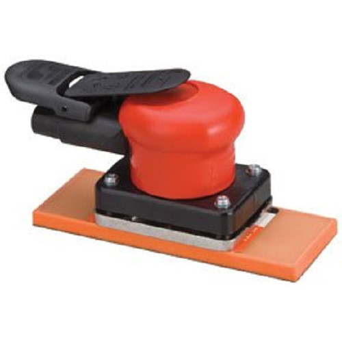 Dynabrade 58511 Dynabug II Non-Vacuum Air Orbital Sander with 2-3/4 in. 6-7/8 in. PSA Sanding Pad image number 0