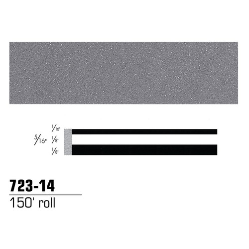 3M 72314 Scotchcal Striping Tape, Light Slate Metallic, 5/16 in. x 150 ft.