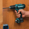 Makita FD05R1 12V max CXT Lithium-Ion 3/8 in. Cordless Drill Driver Kit (2 Ah) image number 2