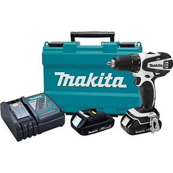 Factory Reconditioned Makita XFD01CW-R 18V LXT Lithium-Ion 2-Speed Compact 1/2 in. Cordless Drill Driver Kit (1.5 Ah) image number 0