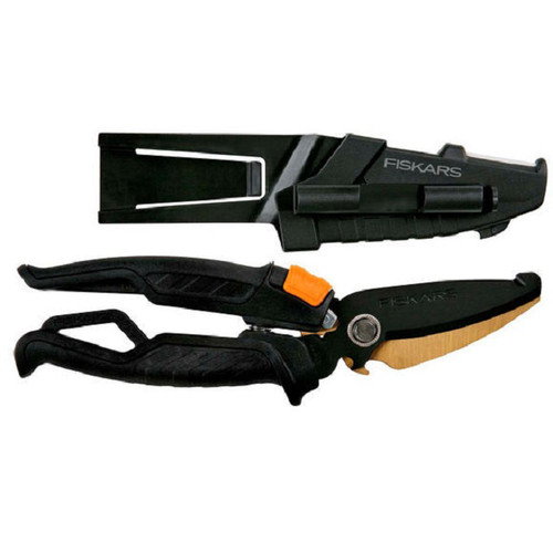 Fiskars 5792 9 in. Shop Boss Hardware Snip with Sheath
