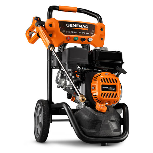 Generac 7019 196cc Gas 3,100 PSI 2.4 GPM Pressure Washer with PowerDial Gun image number 0