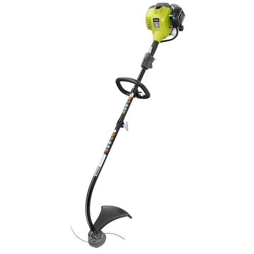 Factory Reconditioned Ryobi ZRRY252CS 25cc 17 in. Full Crank 2-Cycle Curved Shaft Gas String Trimmer