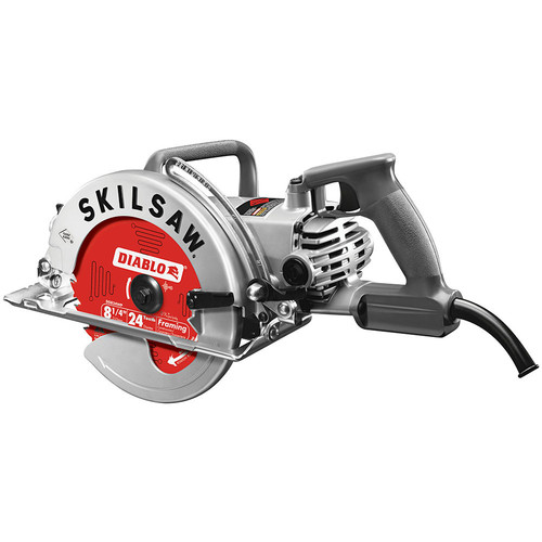 SKILSAW SPT78W-22 15 Amp 8-1/4 in. Aluminum Worm Drive Saw image number 0