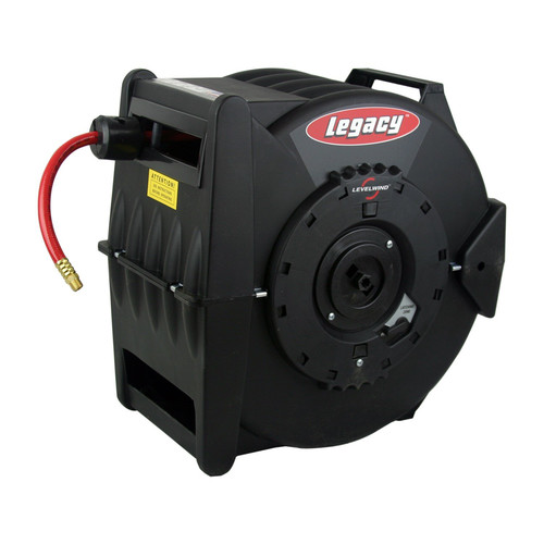 Legacy Mfg. Co. L8305 Levelwind 3/8 in. x 50 ft. Air Hose Reel image number 0