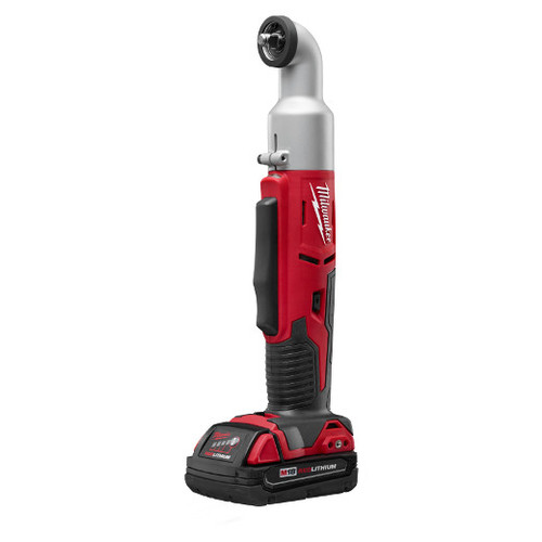Factory Reconditioned Milwaukee 2668-81CT M18 18V Cordless Lithium-Ion 2-Speed 3/8 in. Right Angle Impact Wrench Kit