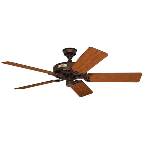 Hunter 23847 52 in. Outdoor Original Chestnut Brown Ceiling Fan
