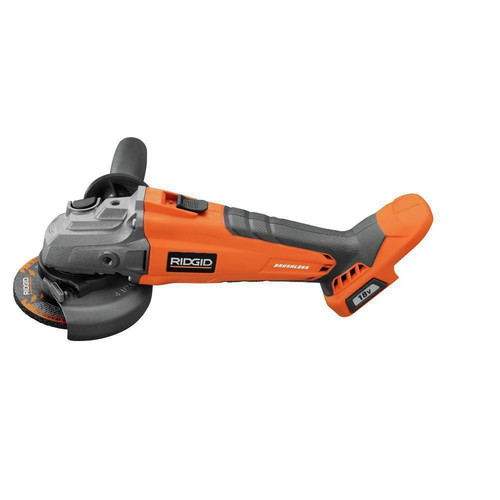 Factory Reconditioned Ridgid ZRR86041B 18V Brushless Angle Grinder (Tool Only) image number 1