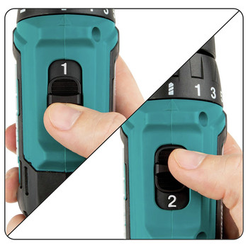 Makita FD09R1 12V max CXT Lithium-Ion Brushless 3/8 in. Cordless Drill Driver Kit (2 Ah) image number 7
