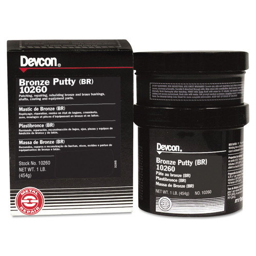 Devcon 10260 1 lb. Bronze Putty image number 0