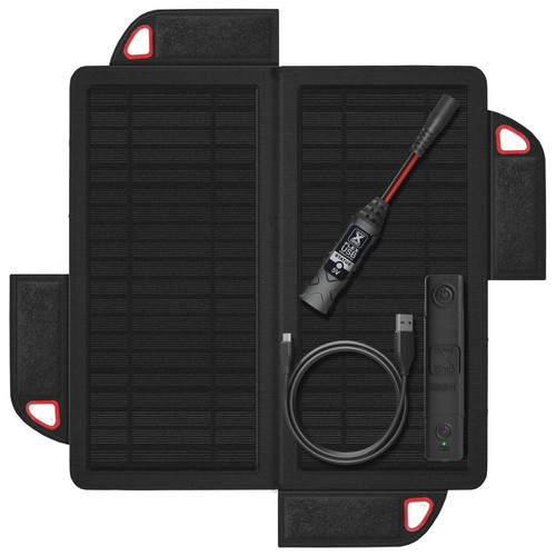 NOCO XGS9USB XGRID 9 Watt Foldable Solar Panel & XGB3L Battery