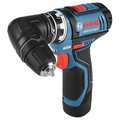 Bosch GSR12V-140FCB22 12V Max Lithium-Ion FlexiClick 5-in-1 1/4 in. Cordless Drill Driver System Kit (2 Ah) image number 8