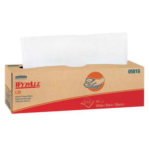 WypAll 05816 L30 120 Wipes/Box General Purpose Wipes (6-Pack) image number 0