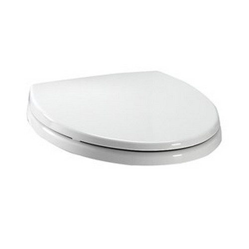 TOTO SS113#01 SoftClose Round Polypropylene Closed Front Toilet Seat & Cover (Cotton White)