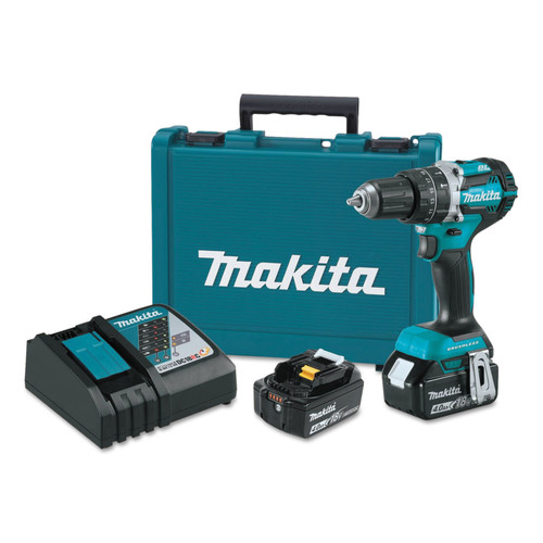 Makita XPH12M 18V LXT 4.0 Ah Cordless Lithium-Ion Brushless 1/2 in. Hammer Drill Kit