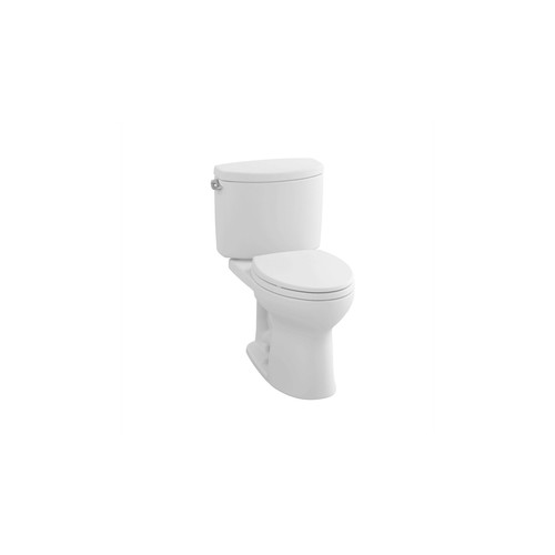 TOTO CST454CEFG#01 Drake II Elongated 2-Piece Floor Mount Toilet (Cotton White)