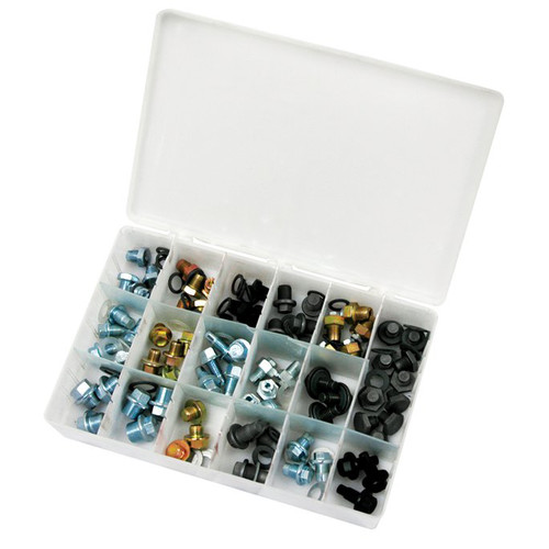 ATD 385 76-Piece Drain Plug Assortment