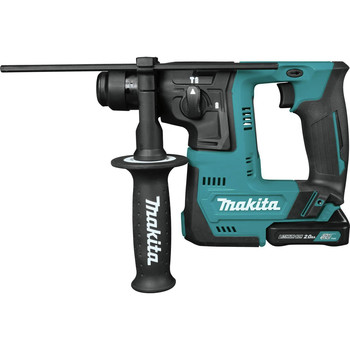 Makita RH02R1 12V max CXT Lithium-Ion 9/16 in. Rotary Hammer Kit, accepts SDS-PLUS bits (2.0Ah) image number 0