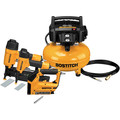 Factory Reconditioned Bostitch BTFP3KIT-R 3-Piece Nailer and Compressor Combo Kit