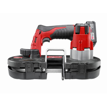 Milwaukee 2429-21XC M12 12V Cordless Lithium-Ion Sub-Compact Band Saw Kit with XC Battery image number 2
