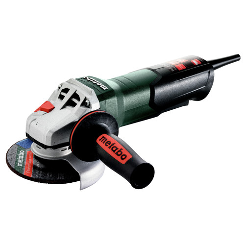 Metabo 603624420 WP 11-125 Quick 11 Amp 11,000 RPM 4.5 in. / 5 in. Corded Angle Grinder with Non-Locking Paddle image number 0