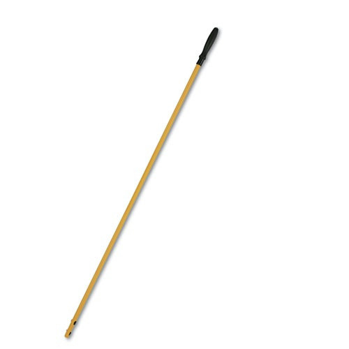 Rubbermaid Q750YW HYGEN 58 in. Quick-Connect Aluminum Mop Handle (Yellow)
