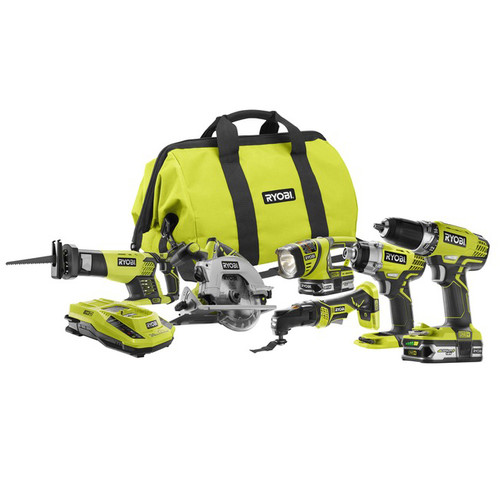 Factory Reconditioned Ryobi ZRP884 18V One Plus Lithium-Ion Ultimate Combo Kit