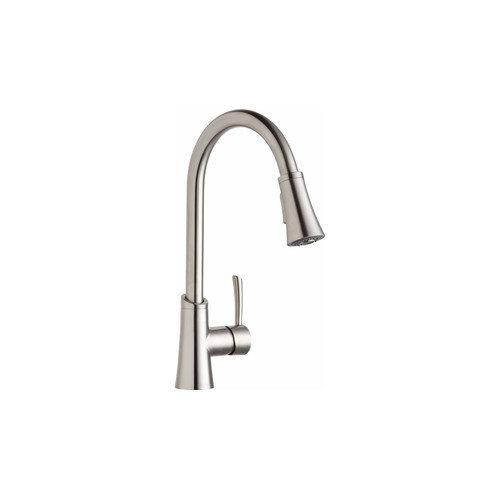 Elkay LKGT3031LS Gourmet Pull-Down Spray Kitchen Faucet (Lustrous Steel)