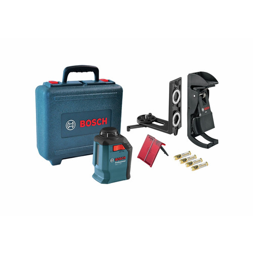 Factory Reconditioned Bosch GLL2-20S-RT Self-Leveling 360 Degree Line and Cross Laser