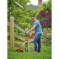 Black & Decker BESTE620 6.5 Amp/ 14 in. POWERCOMMAND Electric String Trimmer/Edger with EASYFEED image number 4