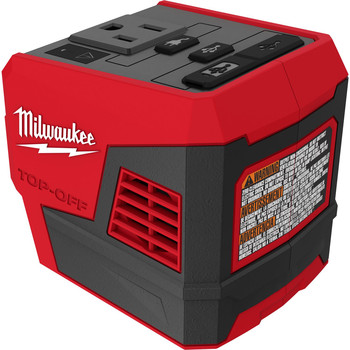 Milwaukee 2846-20 M18 TOP-OFF Lithium-Ion 175-Watt Cordless Portable Power Supply Inverter (Tool Only)