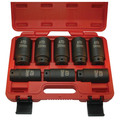 ATD 8628 8-Piece 1/2 in. 12-Point Metric Axle/Spindle Nut Socket Set image number 0