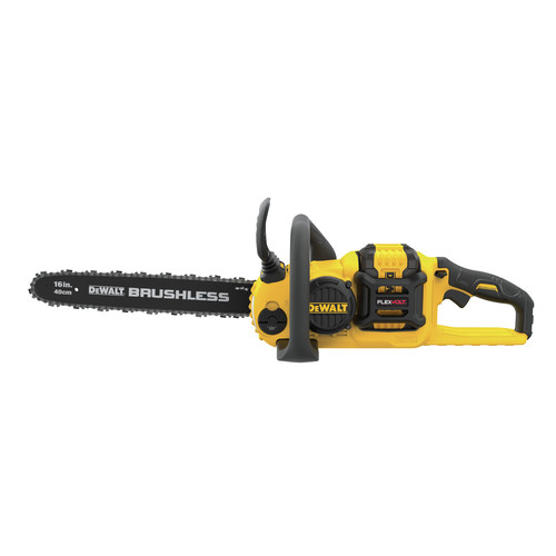 Factory Reconditioned Dewalt DCCS670X1R 60V 3.0 Ah FLEXVOLT Cordless Lithium-Ion Brushless 16 in. Chainsaw image number 0