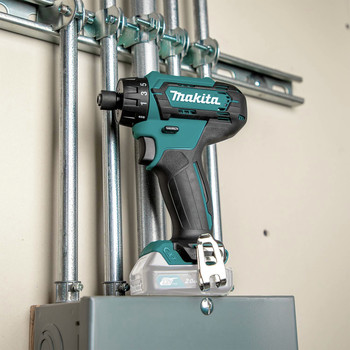 Makita FD10Z 12V max CXT Lithium-Ion Hex Brushless 1/4 in. Cordless Drill Driver (Tool Only) image number 7