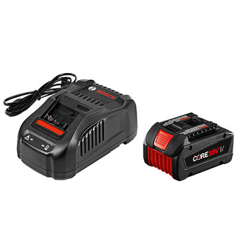 Bosch GXS18V-01N14 CORE18V 6.3 Ah Lithium-Ion Battery and Fast Charger Kit image number 0