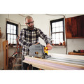 Dewalt DCS520ST1 FLEXVOLT 60V MAX 6-1/2 in. (165mm) Cordless Track Saw Kit with 59 in. Track image number 7