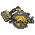 Dewalt DCS578X1 FLEXVOLT 60V MAX Brushless Lithium-Ion 7-1/4 in. Cordless Circular Saw Kit with Brake and (1) 9 Ah Battery image number 2