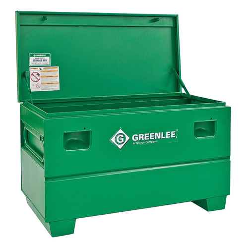 Greenlee 50232738 16 cu-ft. 48 x 24 x 25 in. Storage Chest with Tray image number 0